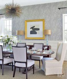 Transitional Formal Dining Room