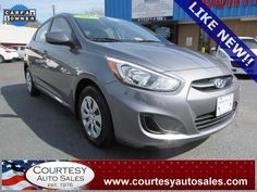 2015 HYUNDAI ACCENT With ONLY 6,383 MILES!! -- Up To 38 MPG! -- INCLUDES REMAINDER Of Factory WARRANTY! -- CALL TODAY! * 757-424-6404 * FINANCING AVAILABLE! -- Courtesy Auto Sales SPECIALIZES In Providing You With The BEST PRICE On A USED CAR, TRUCK or SUV! -- Get APPROVED TODAY @ courtesyautosales.com * Proudly Serving Your USED CAR NEEDS In Chesapeake, Virginia Beach, Norfolk, Portsmouth, Suffolk, Hampton Roads, Richmond, And ALL Of  Virginia SINCE 1976!