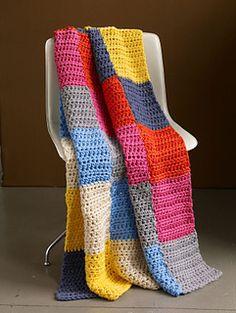 Crochet Afghans Easy Candy Shop Afghan ** Terrific beginner pattern - great for learning how to measure blocks Crochet Lion, Crochet Afgans, Love Crochet, Learn To Crochet, Diy Crochet, Crochet Crafts, Crochet Baby, Crochet Projects, Double Crochet