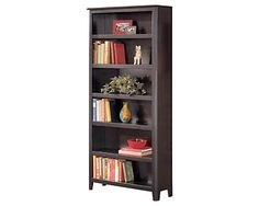 Carlyle Large Bookcase decor example