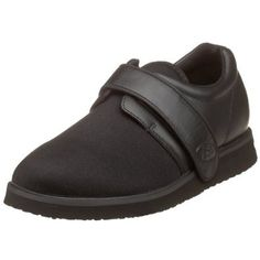 Propet Women's WPED3B Pedwalker 3 Velcro Comfort Shoe,Black Smooth,6.5 M (US Women's 6.5 Propét. $70.98