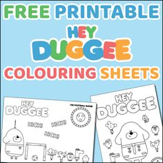 The girls are really getting a bit old for the CBeebies sensation Hey Duggee these days but that doesn't stop Lydia from watching it still! I drew these colouring sheets for the girls –… 3rd Birthday Boys, Boy Birthday Parties, Birthday Ideas, Free Printable Stationery, Free Printables, Printable Coloring Pages, Coloring Pages For Kids, Kids Craft Box, Birthday Party Planner
