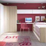 La ilusión pinta en colores en las habitaciones de chicas