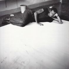Cy Twombly. Tatiana Franchetti, Sperlonga, August 1959