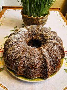 kudy-kam...: Banánová bábovka s ovesnými vločkami Bunt Cakes, Healthy Baking, Cheesecakes, Bagel, Doughnut, Yummy Treats, Ham, Food And Drink, Tasty