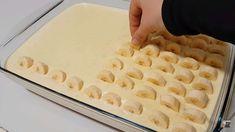 Vynikajúca banánová maškrta s prvotriednym krémom a čokoládovou polevou. Croation Recipes, Mousse, High Tea, Kefir, Apple Pie, Finger Foods, Macaroni And Cheese, Sweet Tooth, Cheesecake
