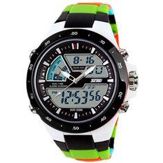 Relogio Masculino Skmei Men Sports Watches Waterproof Fashion Casual Quartz Watch Digital & Analog Military Men's Sports Watches