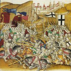 Tannenberg gross Berner Chronik, 1483 Terra Teutonica 1360-1425