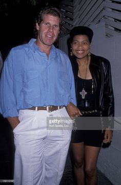 Actor Ron Perlman and wife Opal Stone sighted on July 1989 at Spago Restaurant in West Hollywood, California. Interracial Celebrity Couples, Biracial Couples, Interracial Family, Mixed Couples, Black Couples, Cute Couples, Ron Perlman, Black Actors, Famous Couples