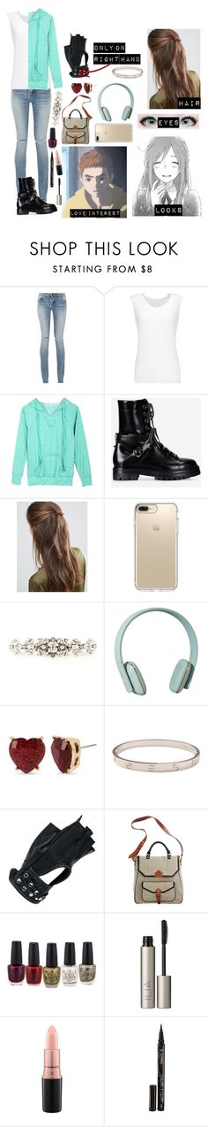 """Ajin oc 2"" by gglloyd ❤ liked on Polyvore featuring Yves Saint Laurent, Norma Kamali, Valentino, DesignB London, Speck, Dolce&Gabbana, Zimmermann, Betsey Johnson, Cartier and Wilsons Leather"