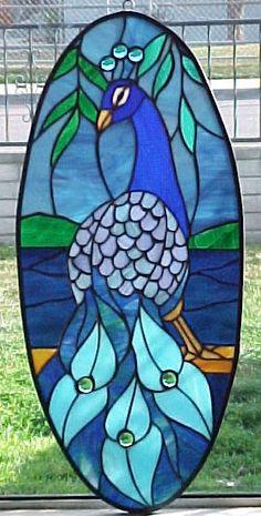 stained glass window- my work