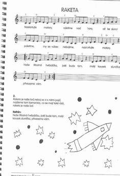 images about flétna noty Music Class, Music Education, Kids Songs, Solar System, Continents, Sheet Music, Preschool, Teaching, Musica