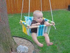 Diy Baby Schaukel nähen und bauen  I Baby Swing