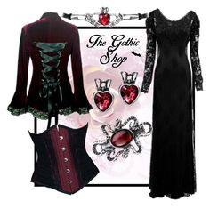 """Romantic Goth Capsule 8"" by thegothicshop ❤ liked on Polyvore"