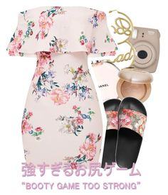 A fashion look from November 2017 featuring flouncy dress, gucci footwear and oversized earrings. Browse and shop related looks. Cute Swag Outfits, Komplette Outfits, Teen Fashion Outfits, Dope Outfits, Simple Outfits, Classy Outfits, Polyvore Outfits, Look Fashion, Stylish Outfits