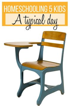 Homeschooling 5 Kids: find out what a typical day looks like! Homeschooling…