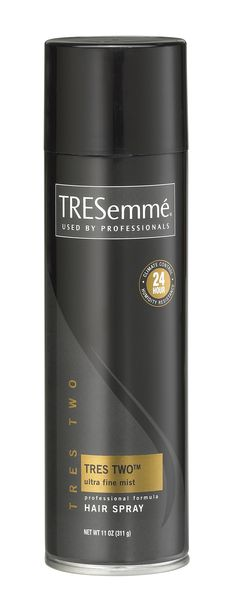 TRESemme Ultra Fine Mist Hair Spray HOLDS GREAT WITHOUT GETTING HARD LOVE IT