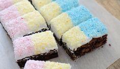 Snowball Marshmallow Brownies