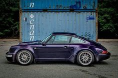 A celebration of worldwide Porsche culture for the modern day enthusiast Porsche 964, Porsche Cars, Porsche Classic, Vintage Porsche, Turbo S, Wide Body, Ocean City, Audi, Automobile