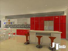 acrylic kitchen cabinet - 10   3d kitchen cabinet design