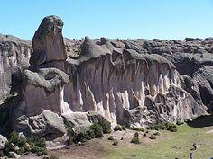 Lima, Peru - Markawasi Stone Forest.