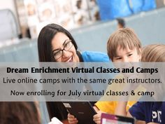 Introducing Online Enrichment classes in Art and Coding, where kids get to enjoy their favorite after school programs from the comfort of their home. Enroll now! #kids #online #home #classes