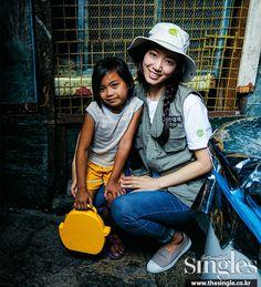 Park Shin Hye Center For Children Opens In Manila | Couch Kimchi