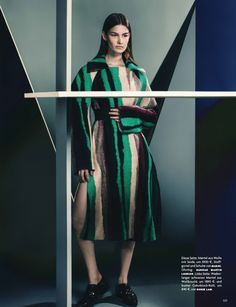 Vogue Gemany July 2014 | Ophélie Guillermand by Sebastian Kim