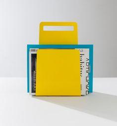 Alfred Magazine Rack by Seaton Mckeon & DesignByThem