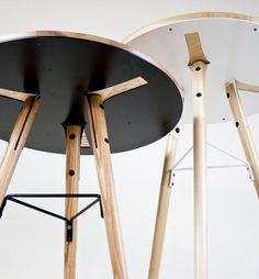 Café Table by 2nd Shift Studio, via Behance
