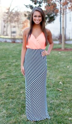 The Pink Lily Boutique - Love On Top Maxi, $40.00 (http://thepinklilyboutique.com/love-on-top-maxi/)