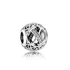 Pandora Vintage X Charm #jewellery