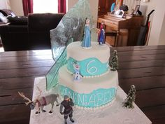 Grateful for the Ride: Disney Frozen Cake-step by step picture tutorial