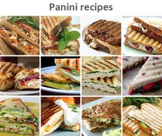 panini recipes...I have a panini press, but never use it!  I'm gonna have to check these out!