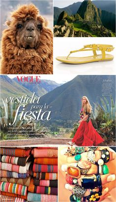 Check out August edition of Vogue Latin America. The Vibrant colors, unique textiles and amazing Peruvian landscapes are an excellent representation of the Latino colorful style #dailyEssentials #jenilysilva