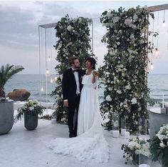 Ideas wedding ceremony backdrop outdoor backgrounds for 2019 Perfect Wedding, Dream Wedding, Wedding Day, Garden Wedding, Budget Wedding, Wedding Reception, Wedding Photos, Reception Ideas, Rooftop Wedding