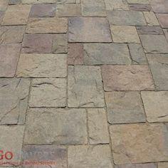 interlocking concrete paver - belgard bergerac   interlocking