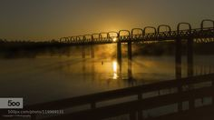 River Murray Sunrise - Pinned by Mak Khalaf Sunrise behind the road bridge at Murray Bridge South Australia on a frosty clear morning on the second last day of winter for 2015. Landscapes australiabridgelightmistmistymorningmurray bridgemurray rivermurraylandsreflectionriverriver murraysouth australiasunsunrisetravelwater by tjholder