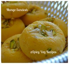 Mango Sandesh Recipe | How to make Mango Sandesh | Mango Sandesh Mango SandeshSandesh is a very popular Bengali dessert. You can prepare it during festivals.Traditionally Sandesh is made with fresh homemade chenna and sugar. I add some mango pulp in this recipe to give a twist. You can also try it with your favorite flavor like strawberry, Rose, Chocolate, pineapple, etc.If you are looking for more Mango recipes from the blog Please do check:Mango LassiMango PhirniMango Sandesh RecipePrep…