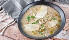 Mushroom and Leek Soup recipe - Everyday Gourmet with Justine Schofield