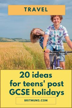 Here are 20 fabulous ideas where to take teens post GCSE! Includes teen travel essentials, places to go, destinations, some bargains and more!  #postGCSE #travel #familytravel #summertravel Lifestyle Articles, Parenting Articles, Parenting Toddlers, Teen Posts, Great Pictures, Travel Goals, Summer Travel, Amazing Destinations, Travel Essentials