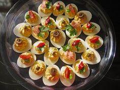 Gefüllte Eier, ein raffiniertes Rezept aus der Kategorie Kalt. Bewertungen: 111. Durchschnitt: Ø 4,5.
