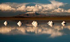 Evening Light on Uyuni Salt Flat, Bolivia Dan Gindling @Smithsonian Magazine