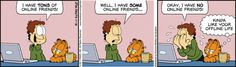 Growing up, Garfield has been one of my favourite comic strips to read. I really enjoy the humorous situations and running gags that illustrate the interactions between the characters. Garfield is a very iconic character of the comic book industry and his personality is certainly entertaining.