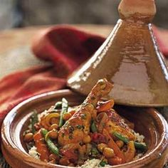 This one-pot dish is delicious over couscous. What to drink: Wines with distinctive spice notes, such as Gewürztraminer or Syrah.