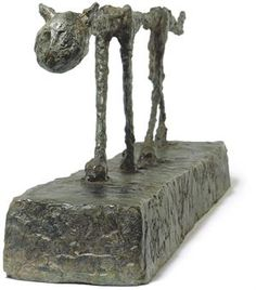 Alberto Giacometti (1901-1966)   Le Chat   Conceived in 1951 and cast in 1955