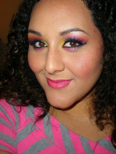 80S Makeup And Hair | 80s Makeup | Flickr - Photo Sharing!