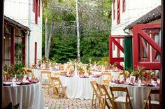 Casual Outdoor Wedding Reception in Virginia- Amira + William UWL