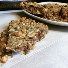 "Low Carb ""Granola"" Bar Fat Bombs: Use unsweetened coconut butter and sugar-free chocolate chips"