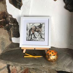 Instagram Site, Inglenook Fireplace, Prints For Sale, Gouache, Layering, Woodland, Original Artwork, Wildlife, Shelf